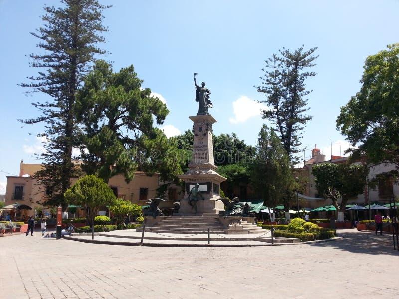 ` Λα Corregidora ` στοκ εικόνα