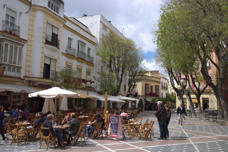 Λα Frontera, Ανδαλουσία, Ισπανία Jerez de στοκ εικόνες