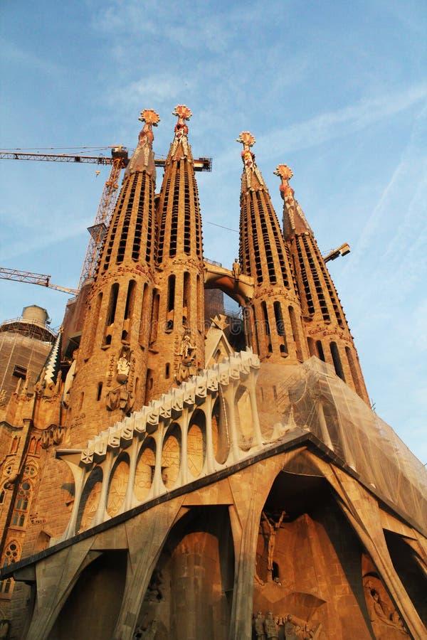 Λα Sagrada Familia, Βαρκελώνη Ισπανία στοκ εικόνες