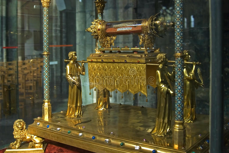 Λείψανο του αποστόλου James λιγότεροι, Λιέγη, Βέλγιο στοκ εικόνες με δικαίωμα ελεύθερης χρήσης
