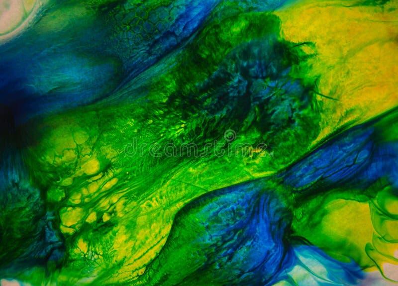 Λειωμένη περίληψη χρωμάτων στοκ φωτογραφίες με δικαίωμα ελεύθερης χρήσης