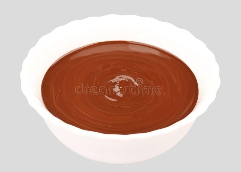Λειωμένη σοκολάτα στοκ φωτογραφίες