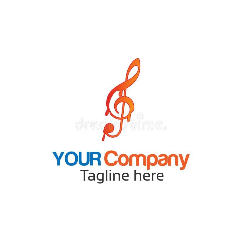 Λειώνοντας σημειώσεις μουσικής, αφηρημένες σημειώσεις μουσικής ελεύθερη απεικόνιση δικαιώματος
