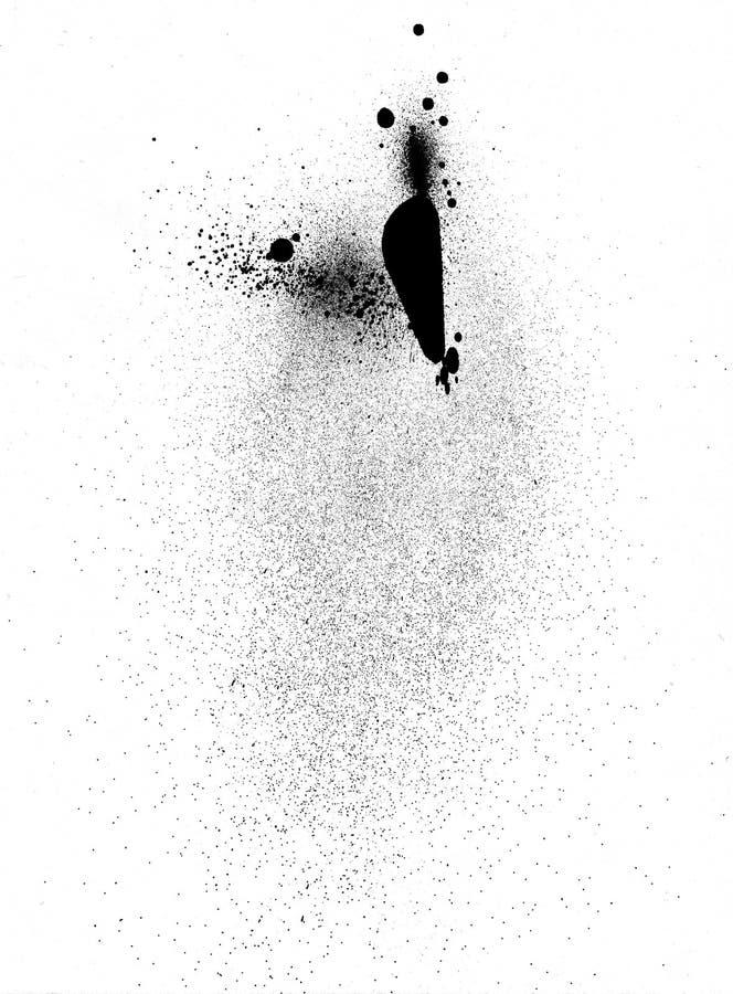 Λεκές μελανιού διανυσματική απεικόνιση