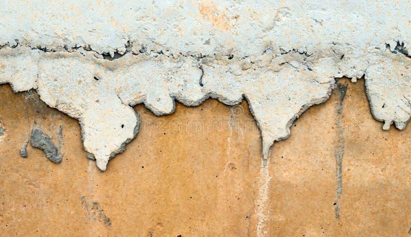 Λεκές στον τοίχο concete στοκ εικόνα με δικαίωμα ελεύθερης χρήσης