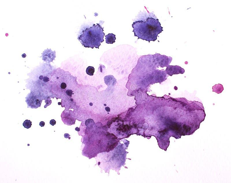 Λεκέδες Watercolour στοκ φωτογραφίες