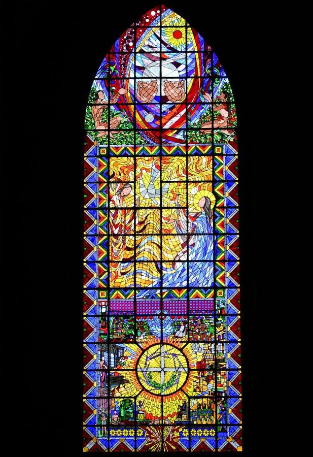 λεκιασμένο γυαλί παράθυρο στοκ φωτογραφία με δικαίωμα ελεύθερης χρήσης
