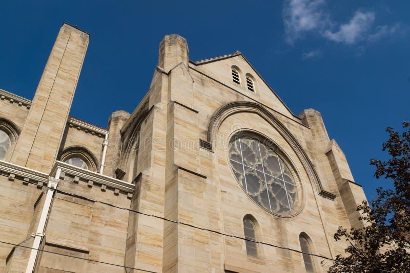 Λεκιασμένο εκκλησία παράθυρο γυαλιού στοκ εικόνες
