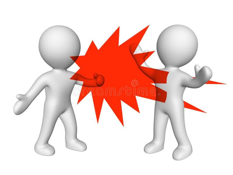 Λεκτική βία απεικόνιση αποθεμάτων