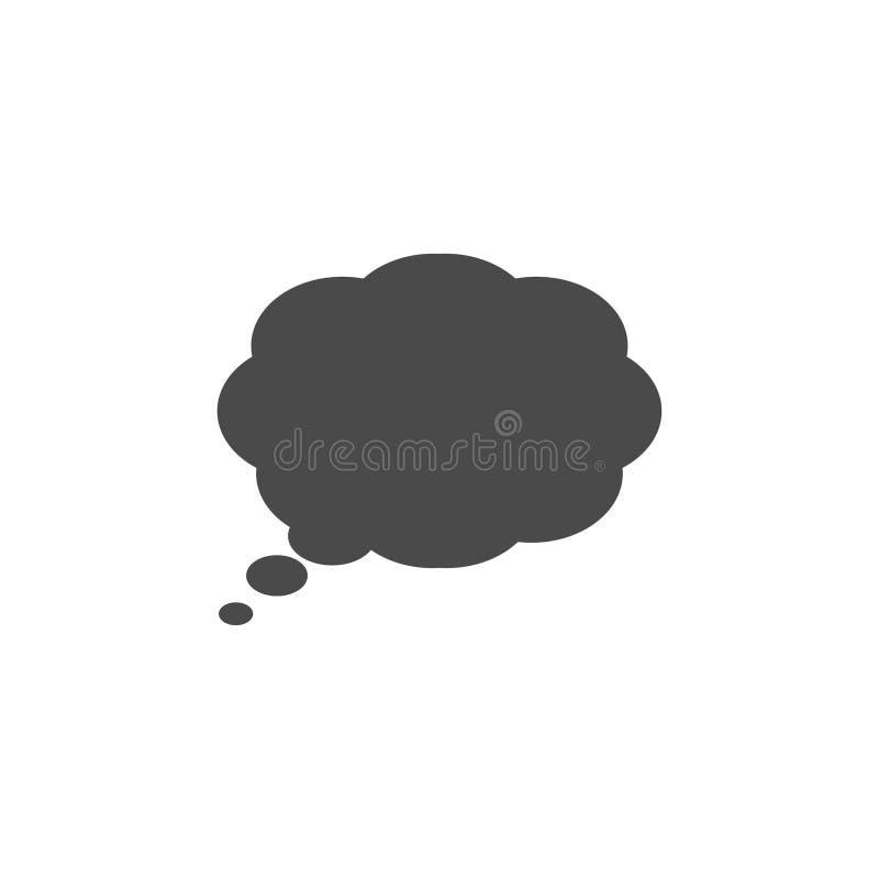 Λεκτική φυσαλίδα, λεκτικό μπαλόνι, διανυσματικό εικονίδιο φυσαλίδων συνομιλίας για τα apps και τους ιστοχώρους απεικόνιση αποθεμάτων