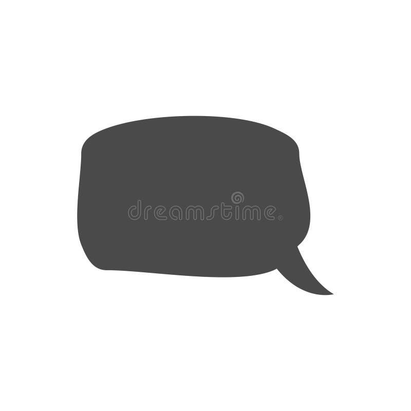 Λεκτική φυσαλίδα, λεκτικό μπαλόνι, διανυσματικό εικονίδιο φυσαλίδων συνομιλίας για τα apps και τους ιστοχώρους ελεύθερη απεικόνιση δικαιώματος
