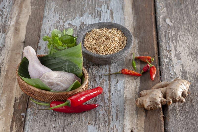 Λεμονόχορτο και γαρίδες τομάτας και τσίλι στοκ φωτογραφία με δικαίωμα ελεύθερης χρήσης