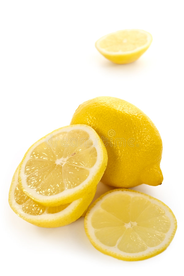 λεμόνι - κίτρινο στοκ εικόνα
