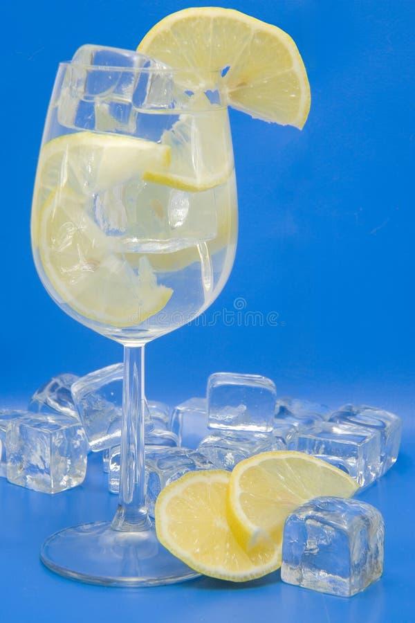 λεμόνι πάγου ποτών στοκ φωτογραφίες