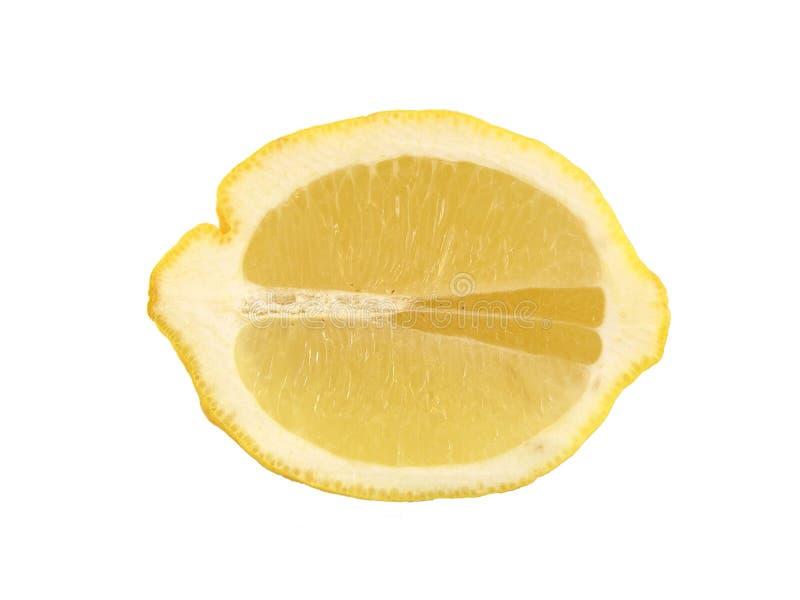λεμόνι που τεμαχίζεται Στοκ φωτογραφία με δικαίωμα ελεύθερης χρήσης