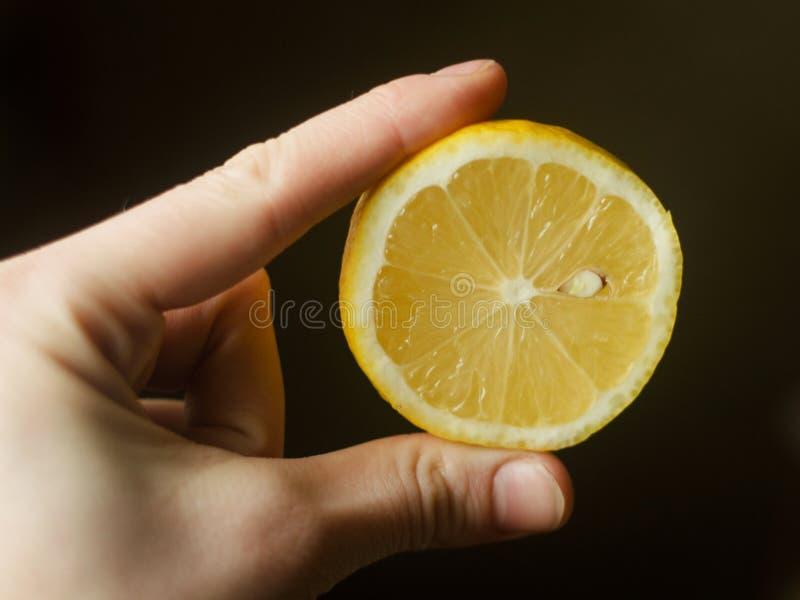 Λεμόνι στοκ εικόνα με δικαίωμα ελεύθερης χρήσης