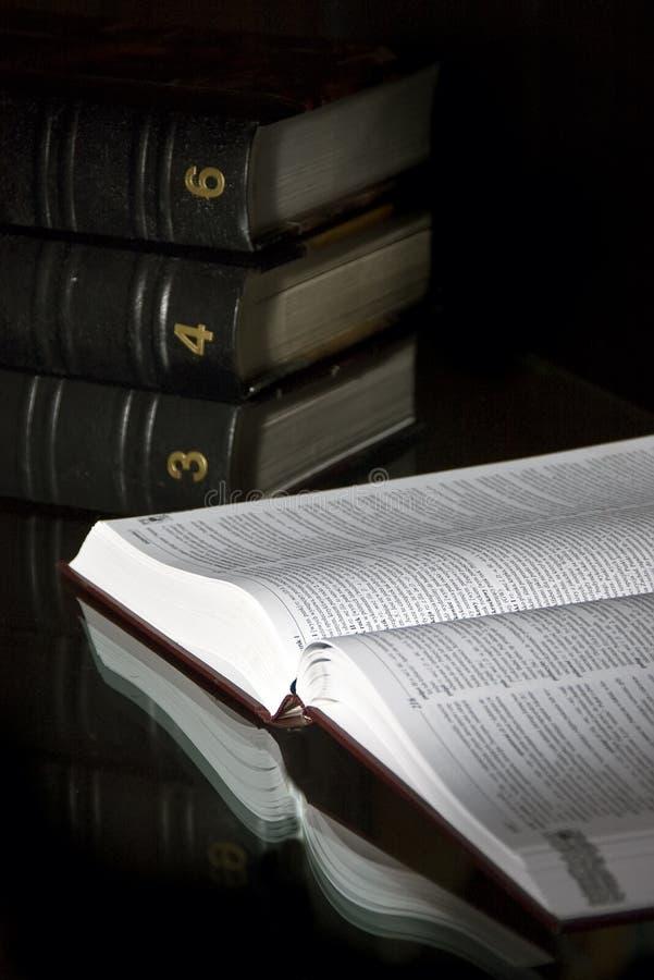 λεξικά στοκ εικόνα