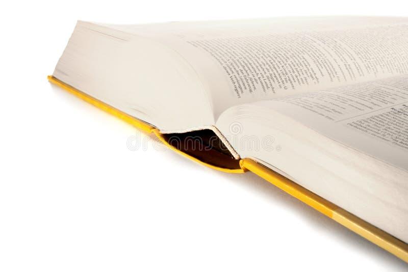λεξικό βιβλίων που ανοίγ&omi στοκ εικόνες με δικαίωμα ελεύθερης χρήσης