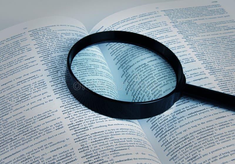 Λεξικό στοκ εικόνες με δικαίωμα ελεύθερης χρήσης