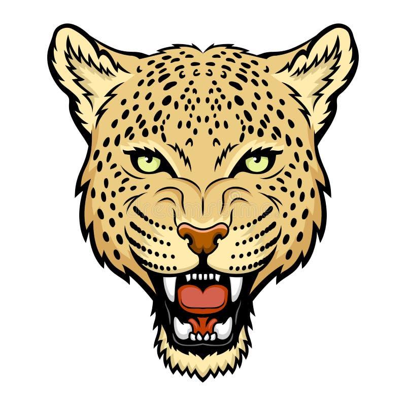 Λεοπάρδαλη διανυσματική απεικόνιση