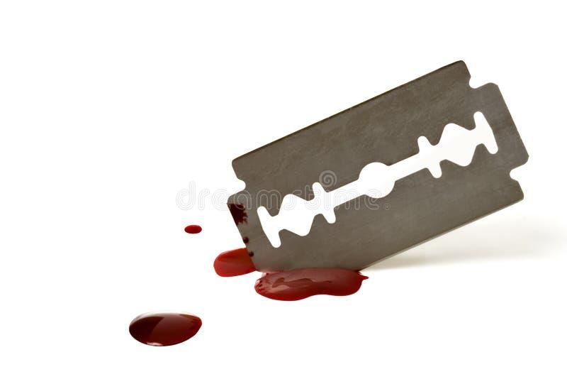 λεπίδα αιματηρή Στοκ εικόνες με δικαίωμα ελεύθερης χρήσης