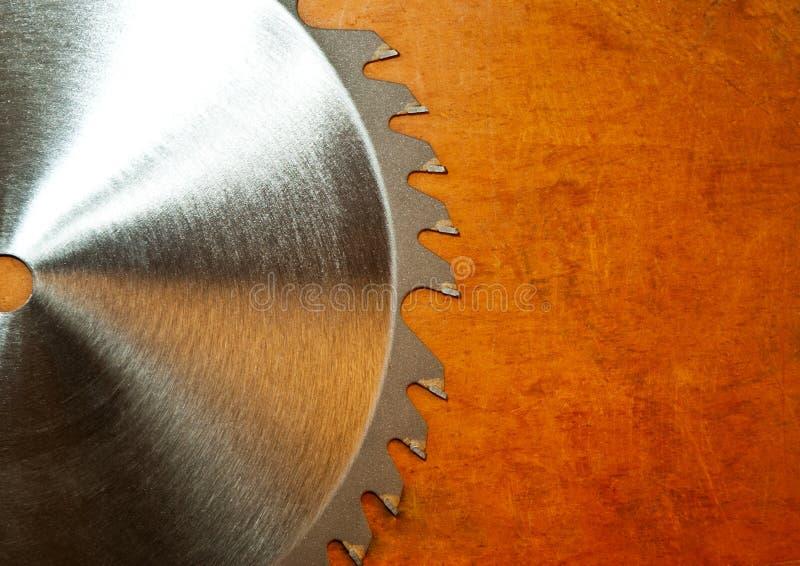 Λεπίδα κυκλικών πριονιών στοκ φωτογραφία με δικαίωμα ελεύθερης χρήσης