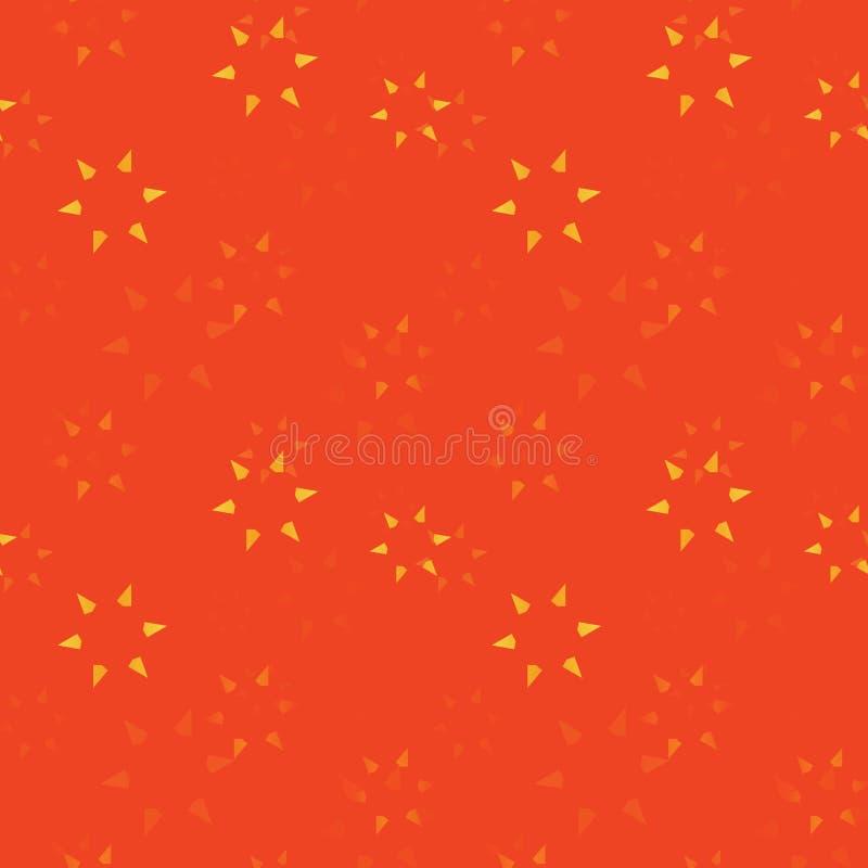 Λεπτά αστέρια που εξασθενίζουν το άνευ ραφής σχέδιο ελεύθερη απεικόνιση δικαιώματος