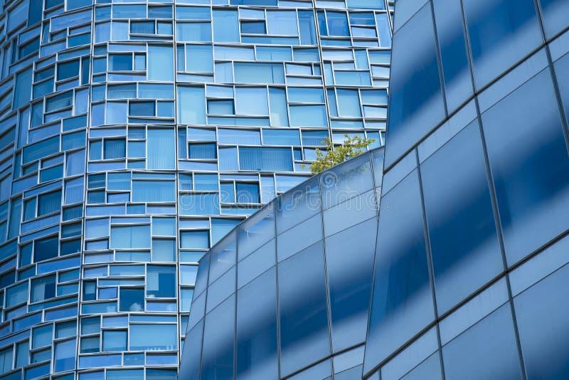 Λεπτομέρεια από τους ουρανοξύστες στη Νέα Υόρκη στοκ εικόνες