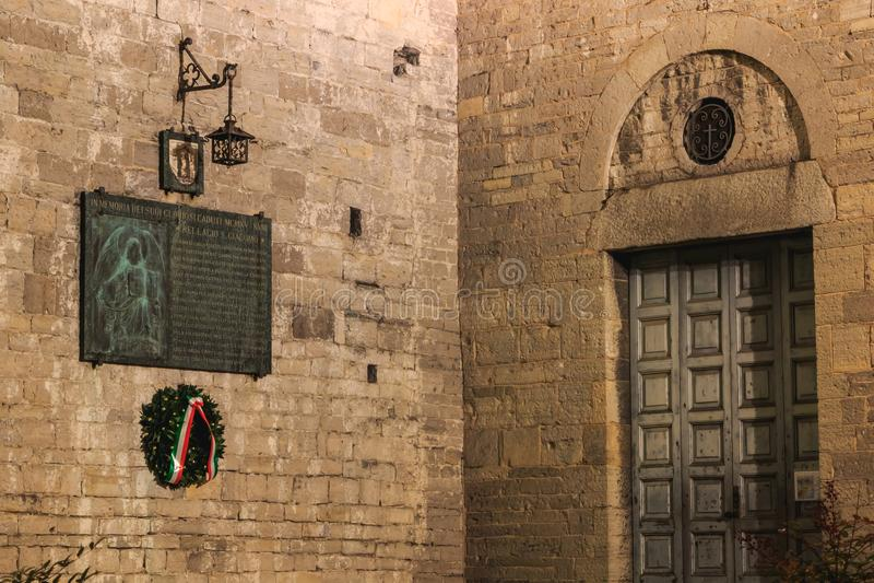 Λεπτομέρεια αρχιτεκτονικής της Romanesque βασιλικής Άγιος Jacob στο Β στοκ φωτογραφία με δικαίωμα ελεύθερης χρήσης