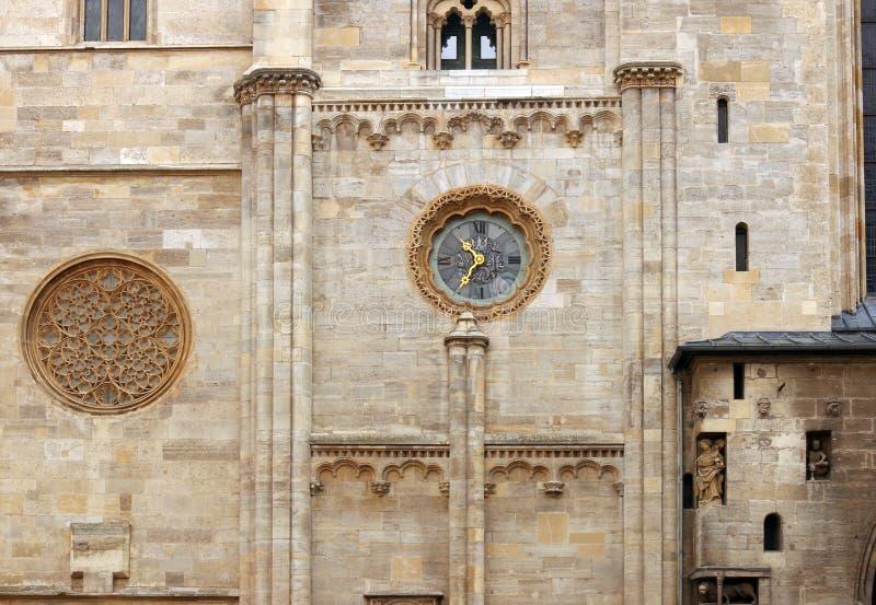 Λεπτομέρεια Βιέννη τοίχων ρολογιών καθεδρικών ναών Αγίου Stephens στοκ φωτογραφίες με δικαίωμα ελεύθερης χρήσης
