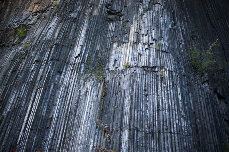 Λεπτομέρεια διαμορφωμένου του Interesant βράχου βασαλτών από την τσεχική Ελβετία στοκ φωτογραφίες με δικαίωμα ελεύθερης χρήσης