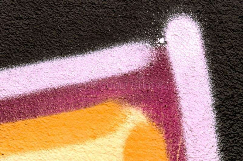 Λεπτομέρεια ενός γκράφιτι ως ταπετσαρία, σύσταση, catcher ματιών στοκ φωτογραφίες με δικαίωμα ελεύθερης χρήσης