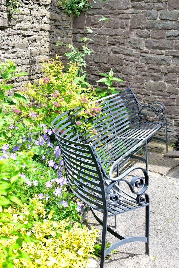 Λεπτομέρεια κήπων εξοχικών σπιτιών στοκ εικόνες