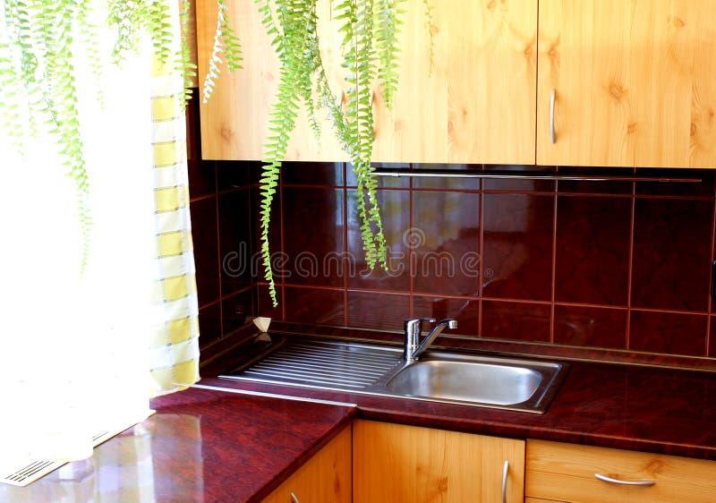 Λεπτομέρεια κουζινών στοκ εικόνα με δικαίωμα ελεύθερης χρήσης