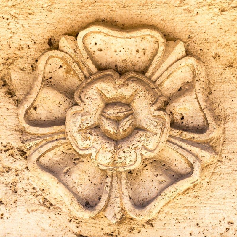 Λεπτομέρεια μιας αρχαίας καλλιτεχνικής πέτρας στοκ φωτογραφίες με δικαίωμα ελεύθερης χρήσης