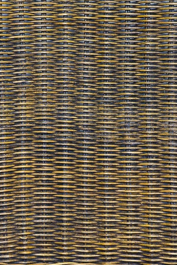 Λεπτομέρεια μιας πλάτης καρεκλών ινδικού καλάμου στοκ φωτογραφία με δικαίωμα ελεύθερης χρήσης