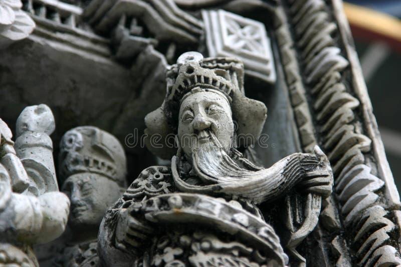 Λεπτομέρεια ναών στοκ φωτογραφίες