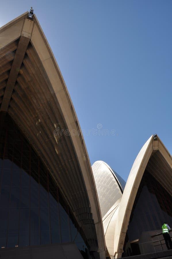 Λεπτομέρεια Οπερών του Σίδνεϊ στοκ εικόνα με δικαίωμα ελεύθερης χρήσης