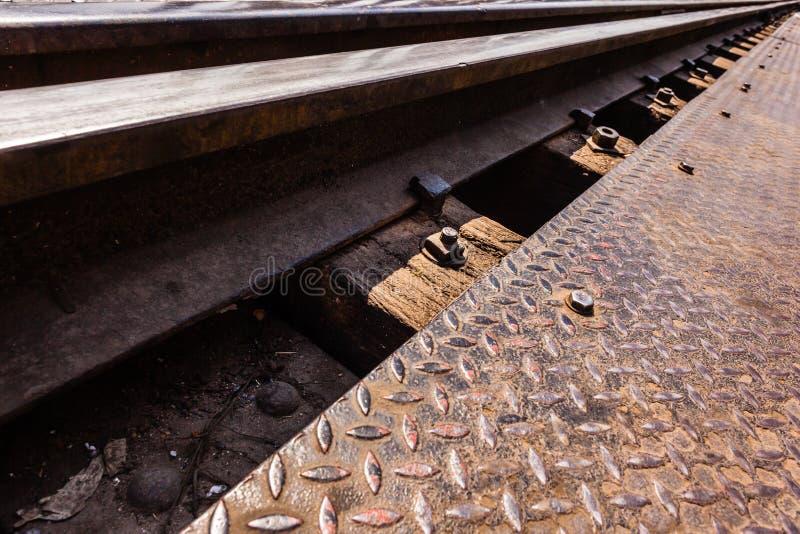 Download Λεπτομέρεια σιδηροδρόμου στοκ εικόνα. εικόνα από διαδρομή - 62712623