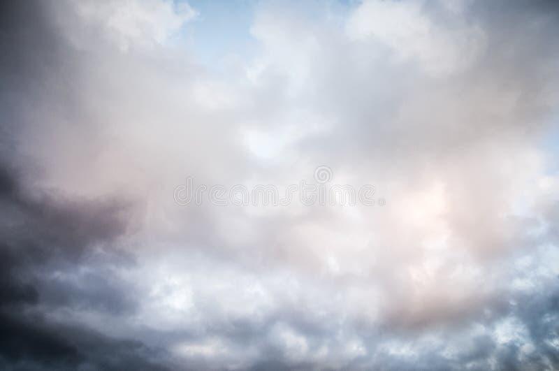 Λεπτομέρεια σύννεφων στοκ φωτογραφίες