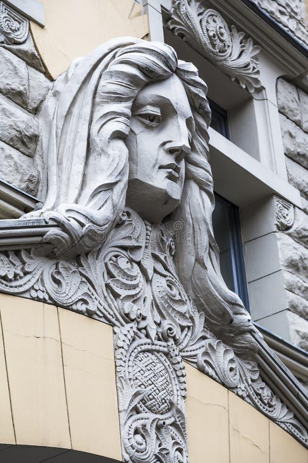 Λεπτομέρεια της πρόσοψης του κτηρίου στοκ φωτογραφία με δικαίωμα ελεύθερης χρήσης