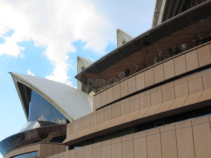 Λεπτομέρεια της Όπερας Syndey στοκ φωτογραφία με δικαίωμα ελεύθερης χρήσης