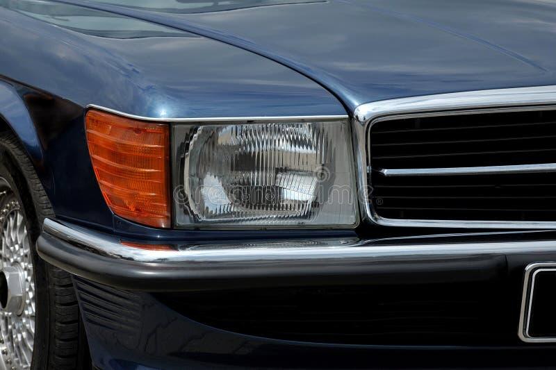 Λεπτομέρεια της Mercedes SL R107 στοκ φωτογραφία