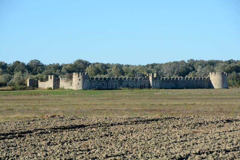 Λεπτομέρεια του αρχαίου φρουρίου Bashtova στοκ φωτογραφία με δικαίωμα ελεύθερης χρήσης