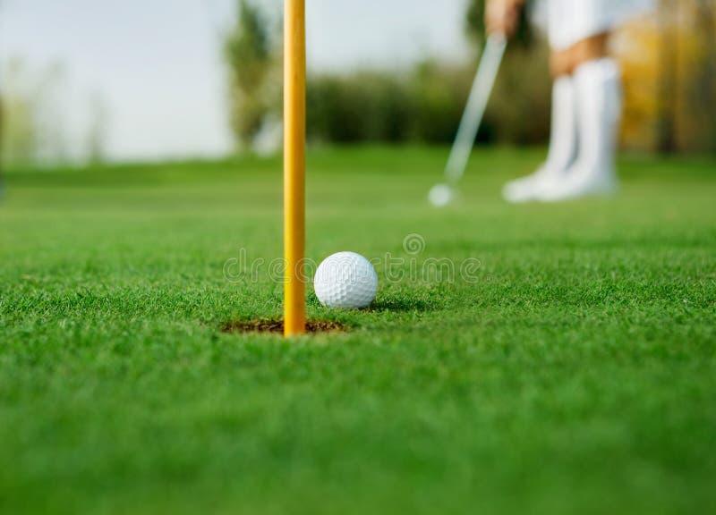 Λεπτομέρεια του γκολφ στοκ εικόνα με δικαίωμα ελεύθερης χρήσης