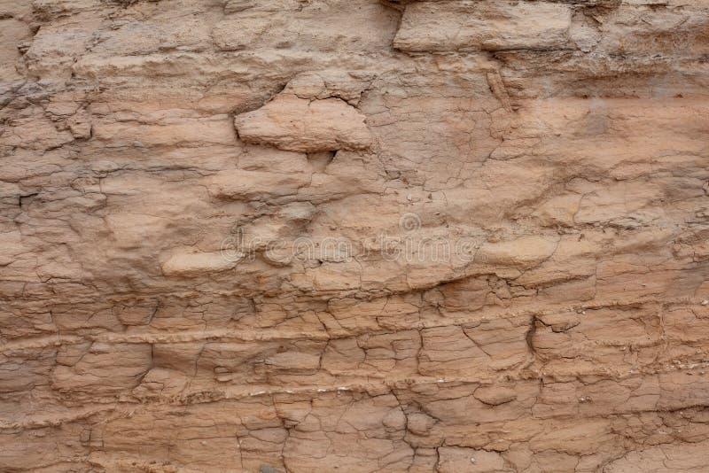 Λεπτομέρεια του διαβρωμένου προσώπου βράχου στο Καστλ Ροκ Badlands στοκ εικόνα