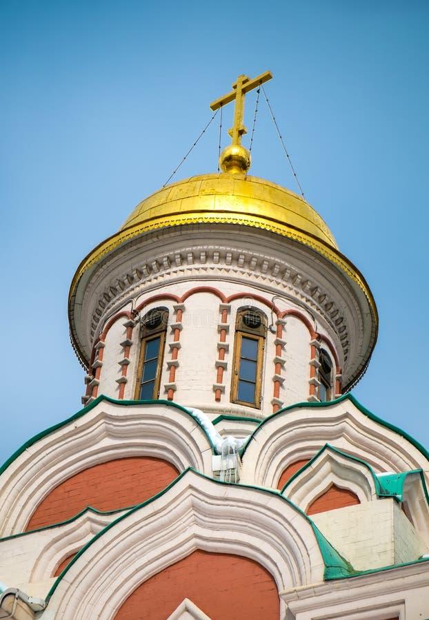Kazan λεπτομέρεια θόλων καθεδρικών ναών στοκ εικόνες με δικαίωμα ελεύθερης χρήσης