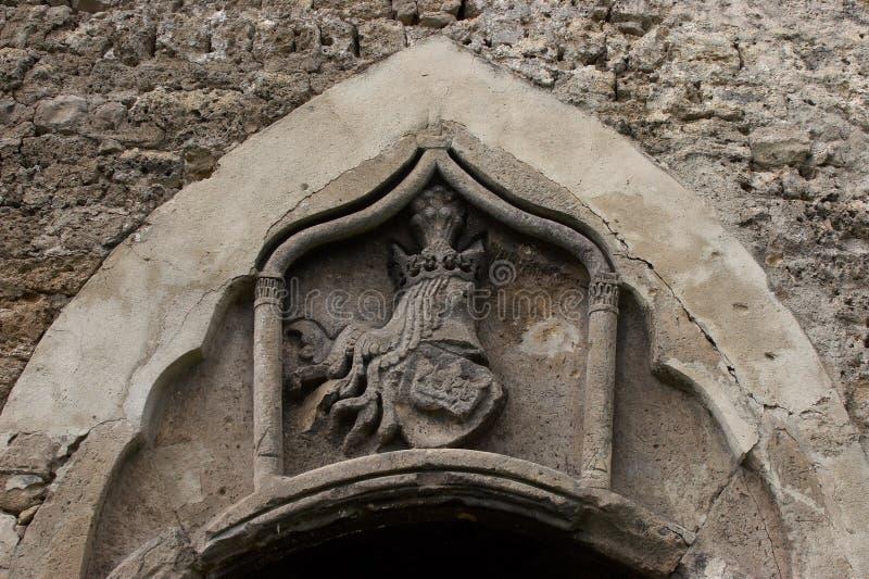Λεπτομέρεια του παλαιού κάστρου Jajce στοκ εικόνες με δικαίωμα ελεύθερης χρήσης