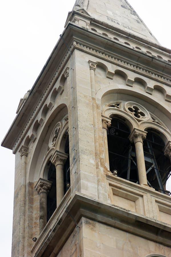 Λεπτομέρεια του πύργου κουδουνιών στοκ εικόνα με δικαίωμα ελεύθερης χρήσης