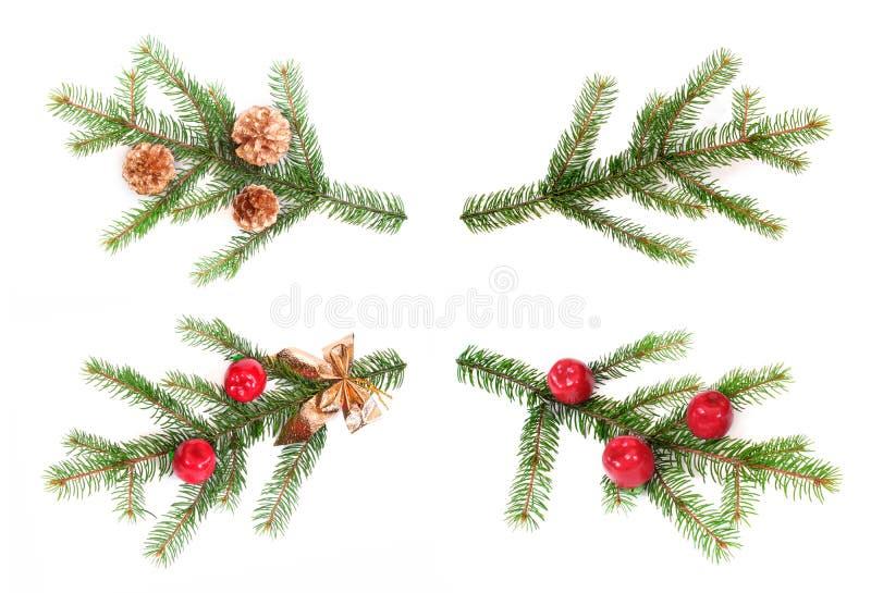 Λεπτομέρεια του χριστουγεννιάτικου δέντρου στοκ εικόνα με δικαίωμα ελεύθερης χρήσης